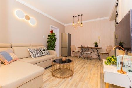 Apartamento de alquiler desde 23 ene. 2019 (Chong Qing Bei Lu, Shanghai Shi)