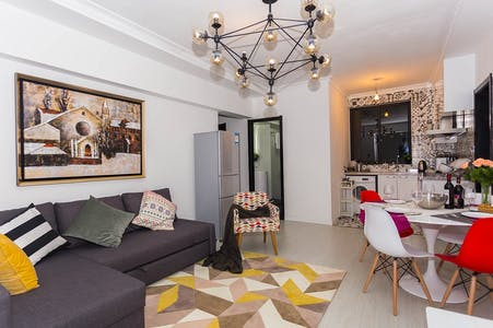 整套公寓租从26 5月 2018 (Feng Yang Lu, Shanghai Shi)