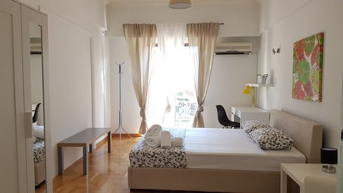 Shared room for rent from 16 Feb 2020 (Kipselis, Athens)