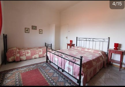 Private room for rent from 16 Jan 2019 (Via Cesare Battisti, Pisa)
