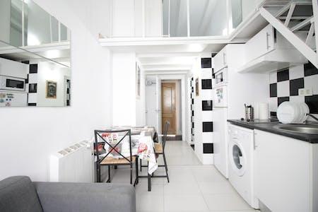Wohnung zur Miete ab 06 Apr. 2020 (Calle Antonio Zamora, Madrid)