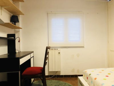 Private room for rent from 01 Feb 2019 (Passeig de Sant Joan, Barcelona)