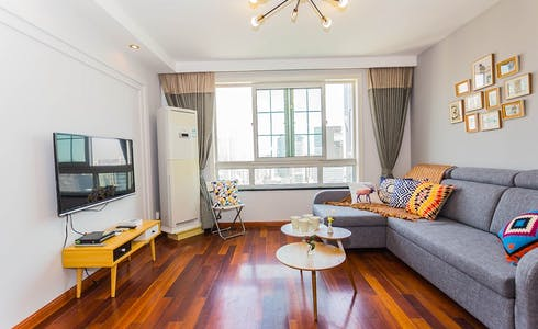 整套公寓租从20 1月 2018 (Da Gu Lu, Shanghai Shi)