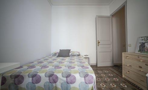 Room for rent from 28 Aug 2018 (Carrer de Balmes, Barcelona)