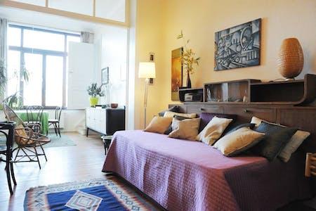 Apartamento para alugar desde 01 mai 2019 (Rue Eugène Verheggen, Saint-Gilles)
