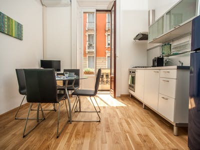 Apartment for rent from 24 Dec 2018 (Via Carlo Goldoni, Milano)