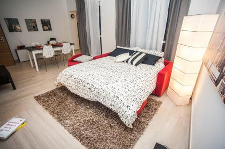 Appartement te huur vanaf 12 mrt. 2019 (Via Nino Bixio, Milano)
