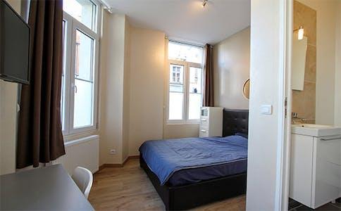 Habitación privada de alquiler desde 01 Jul 2020 (Rue de Wazemmes, Lille)
