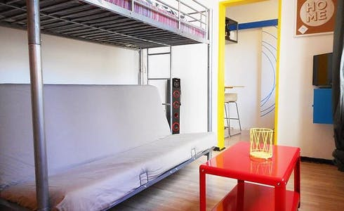 Apartment for rent from 17 Jan 2018 (Rue des Pyramides, Lille)