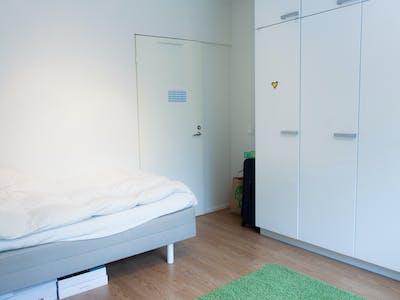 WG-Zimmer zur Miete ab 01 Apr. 2020 (Kaarikuja, Helsinki)