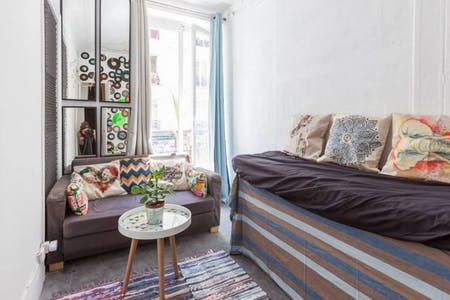 Private room for rent from 01 May 2019 (Rue des Poissonniers, Paris)