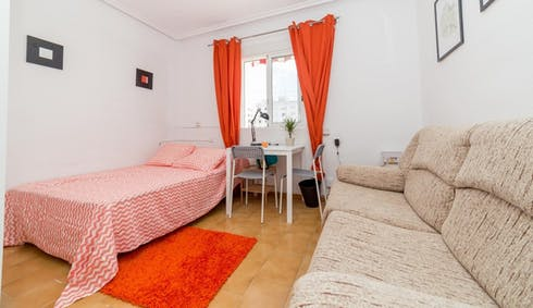 Room for rent from 01 Feb 2018  (Carrer de la Ciutat de Mula, Valencia)