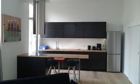 Appartement te huur vanaf 02 jun. 2019 (Chaussée de Waterloo, Saint-Gilles)