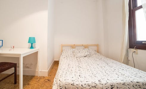 Room for rent from 15 Aug 2018 (Carrer de Sant Vicent Màrtir, Valencia)