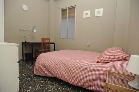 Private room for rent from 01 Feb 2020 (Carrer del Naturalista Rafael Cisternas, Valencia)