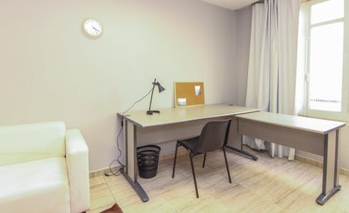 Room for rent from 31 Dec 2018 (Carrer de Sant Vicent Màrtir, Valencia)