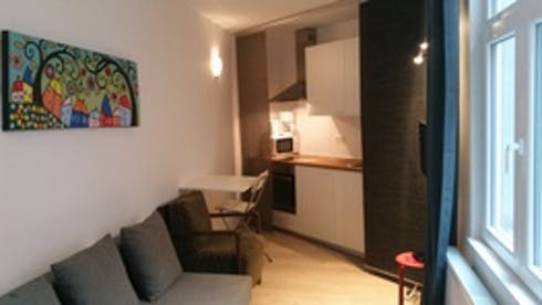 Studio for rent from 01 Mar 2018 till 01 Mar 2019 (Chaussée de Waterloo, Saint-Gilles)