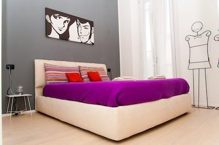 Apartment for rent from 12 Apr 2020 (Via Marco Aurelio, Milano)