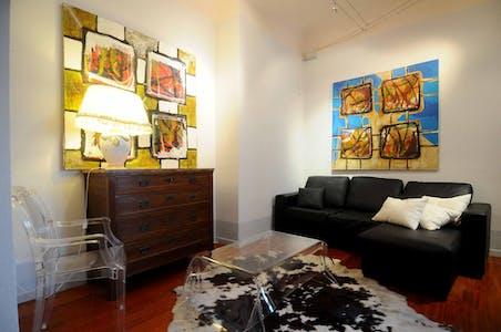 Apartamento de alquiler desde 01 oct. 2018 (Borgo Ognissanti, Florence)
