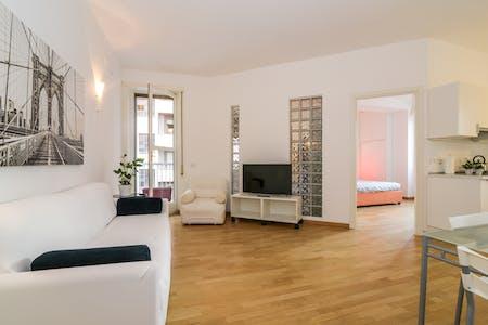 整套公寓租从20 Jan 2020 (Via Domenichino, Milano)