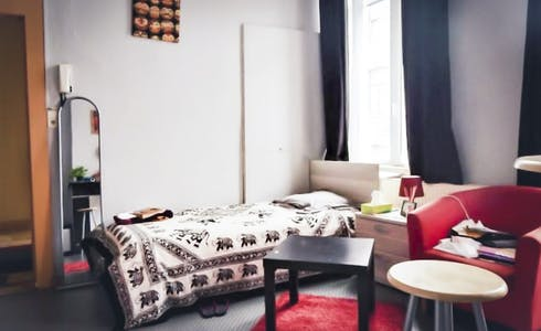 Room for rent from 01 Feb 2018  (Rue du Général Bertrand, Liège)