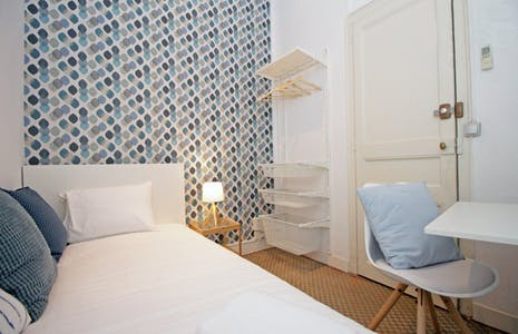 Room for rent from 31 Dec 2018 (Carrer Gran de Gràcia, Barcelona)