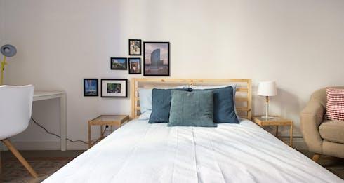 Habitación privada de alquiler desde 01 Aug 2019 (Carrer Gran de Gràcia, Barcelona)