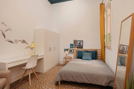 Private room for rent from 01 Feb 2019 (Carrer Gran de Gràcia, Barcelona)