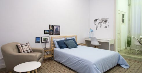 Private room for rent from 01 Nov 2019 (Carrer Gran de Gràcia, Barcelona)