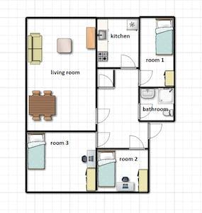 Appartement à partir du 01 Aug 2019 (Carel van Nieveltstraat, Rotterdam)