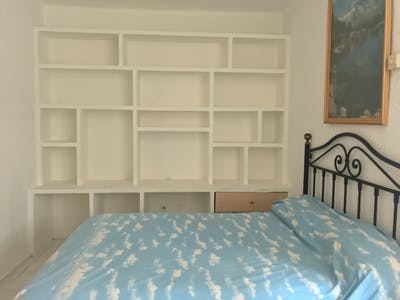 Private room for rent from 01 Jul 2019 (Paseo Perales, Madrid)