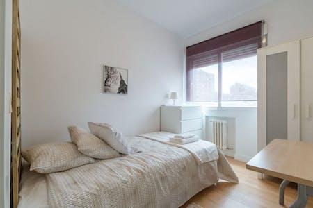 整套公寓租从15 8月 2019 (Avenida de Brasil, Madrid)