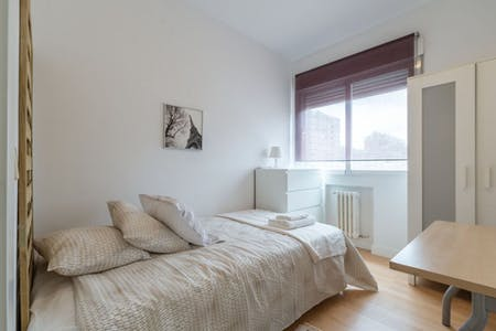 Apartamento para alugar desde 01 Oct 2020 (Avenida de Brasil, Madrid)