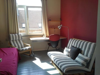 Room for rent from 02 Jan 2019 (Rue de Haerne, Etterbeek)