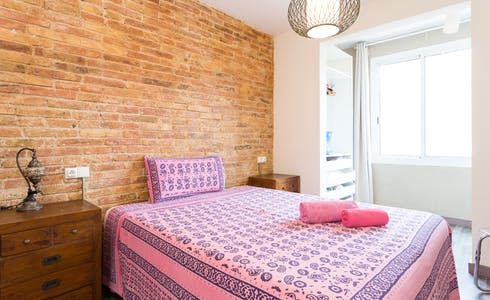 Apartment for rent from 16 Jan 2018 (Carrer del Taulat, Barcelona)