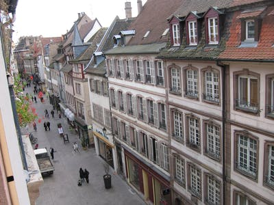 Apartment for rent from 02 May 2018  (Rue des Drapiers, Strasbourg)