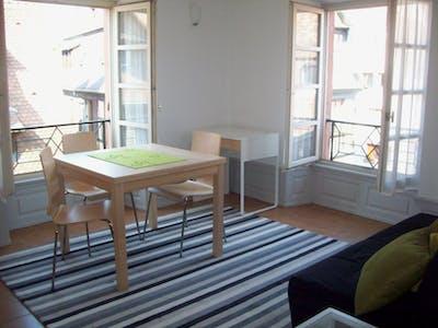 Apartamento para alugar desde 01 ago 2018 (Rue des Drapiers, Strasbourg)