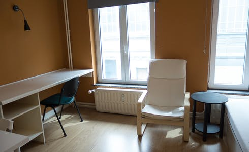 Apartment for rent from 01 Aug 2018 (Rue de la Constitution, Schaerbeek)