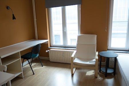 Stanza in affitto a partire dal 27 lug 2017 fino al 31 gen 2018 (Rue de la Constitution, Schaerbeek)