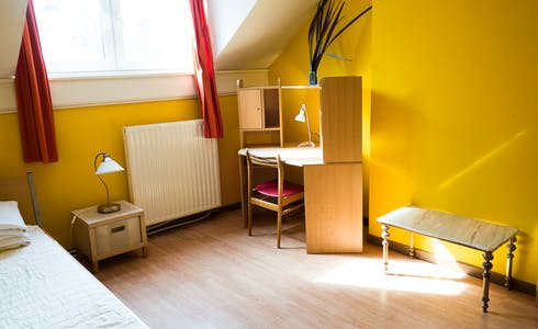 Room for rent from 23 Dec 2017  (Rue de la Poste, Schaerbeek)