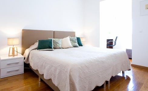 Private room for rent from 01 Sep 2020 (Rua António Pereira Carrilho, Lisbon)