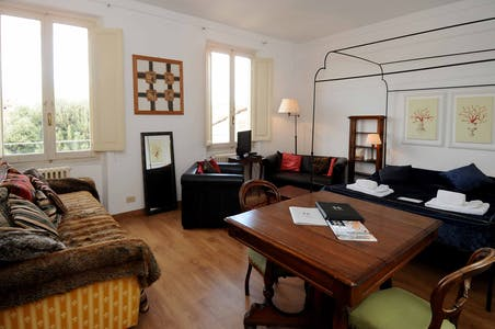 Apartment for rent from 01 Jul 2019 (Lungarno Amerigo Vespucci, Florence)