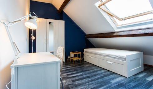 Apartment for rent from 29 Apr 2019 (Rue des Compagnons, Schaerbeek)