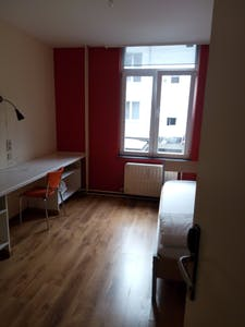 单人间租从26 Mar 2020 (Rue de la Constitution, Schaerbeek)