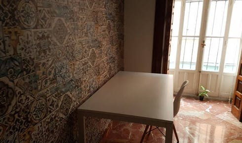 Private room for rent from 01 Feb 2019 (Calle Santiago, Sevilla)