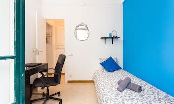 Room for rent from 01 Feb 2018  (Carrer d'Elkano, Barcelona)