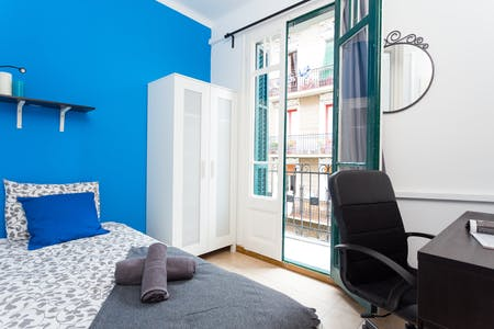 Room for rent from 22 Dec 2018 (Carrer d'Elkano, Barcelona)