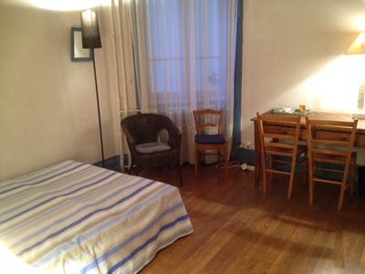 Room for rent from 24 Dec 2018 (Cours Lafayette, Lyon)