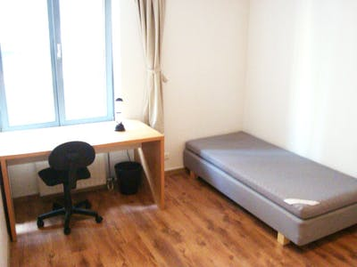 Room for rent from 31 Jul 2018 (Antoine Dansaertstraat, Brussels)