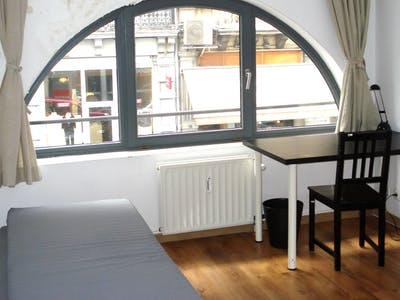 Private room for rent from 15 Feb 2019 (Antoine Dansaertstraat, Brussels)